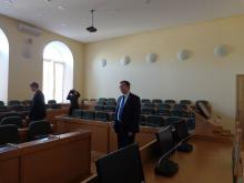 Meeting with vice-rector for IT Development of HSPU