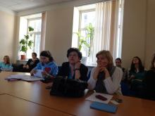 Meeting in the Institute of Childhood, HSPU