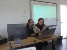 The workshop devoted to the use of different software for editing subtitles