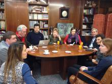 Work Project Meeting in UEx, Spain, 7 March 2014