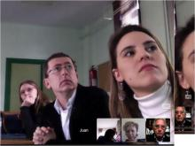 Meeting in The University of Extremadura